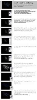 photoshop tutorial: smoke by spottedkiwi