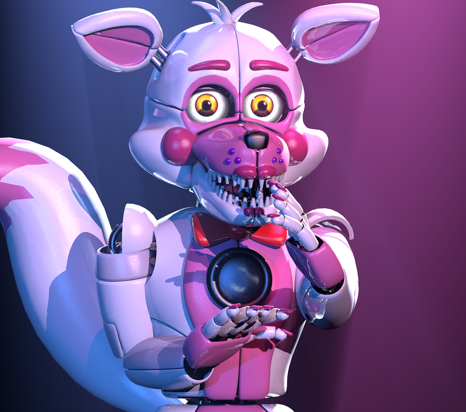 My Name Is Funtime Foxy ITS SHOW TIME Fnaf T FNAF
