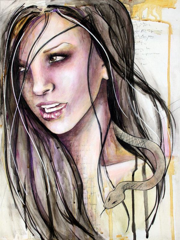 Veronika as Lilith by kellyhowlett
