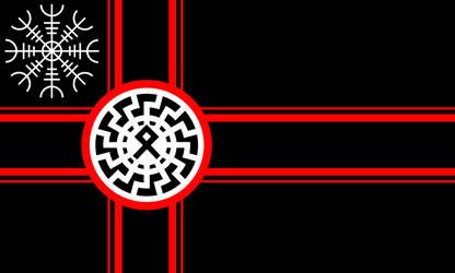 Black Sun Flag