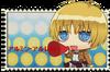 Chibi Armin Arlert Stamp by Tapion-chan333