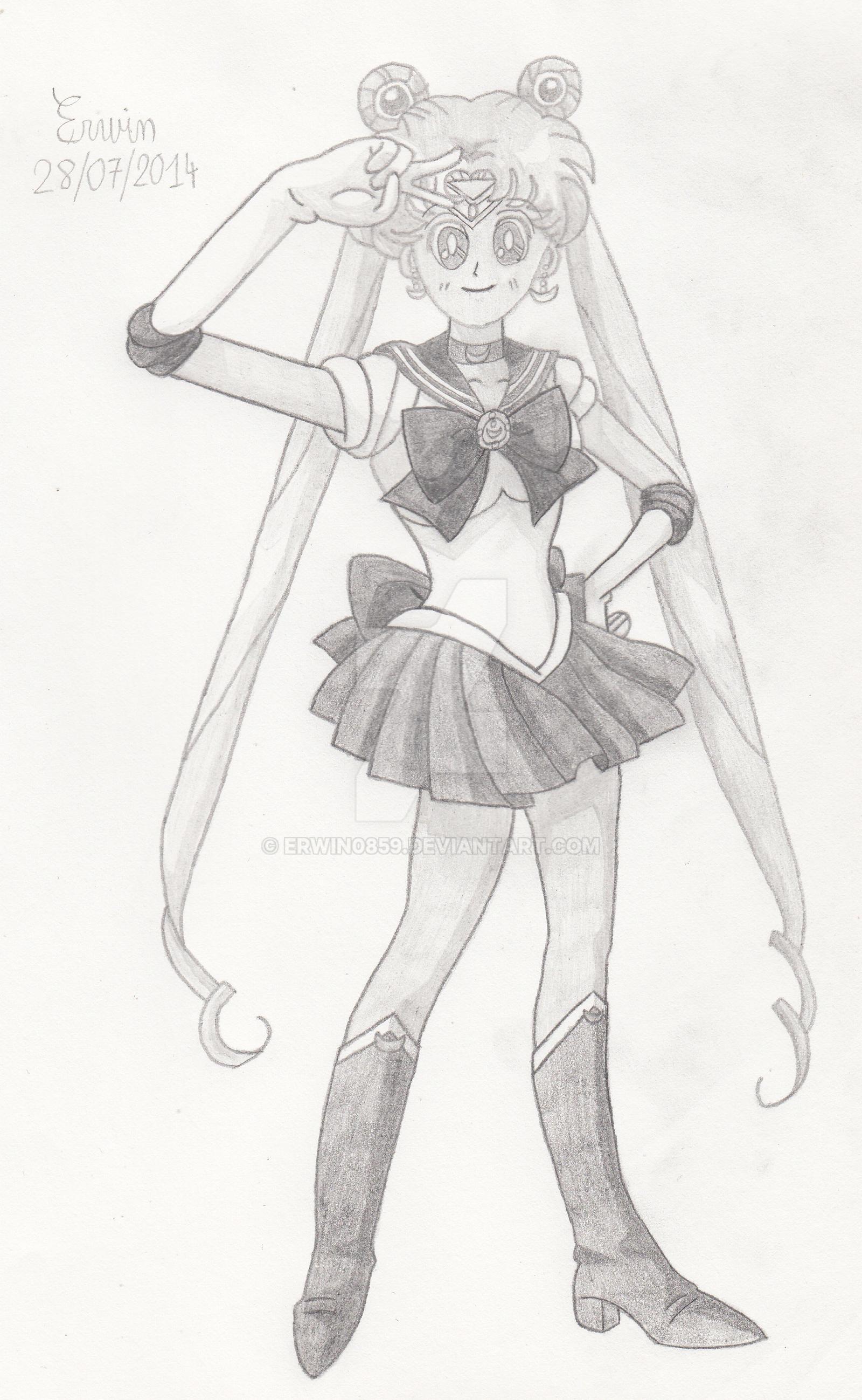 Sailor Moon by Erwin0859