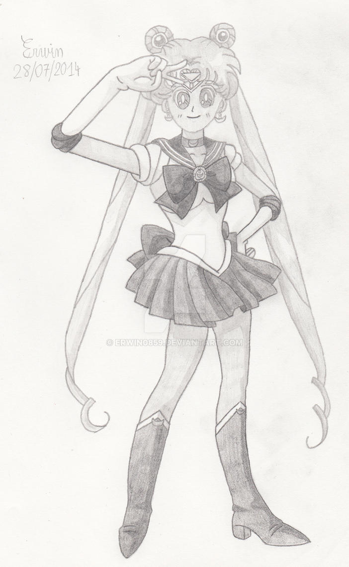 Sailor Moon by Erwin0859