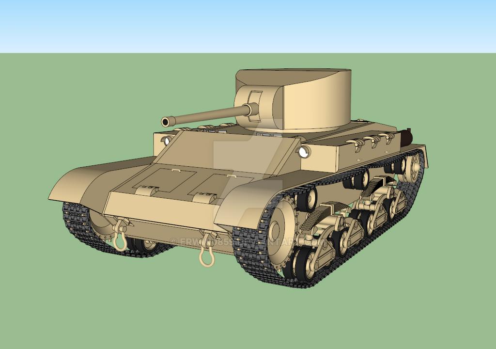 Sabaku medium tank WIP #3,1 by Erwin0859