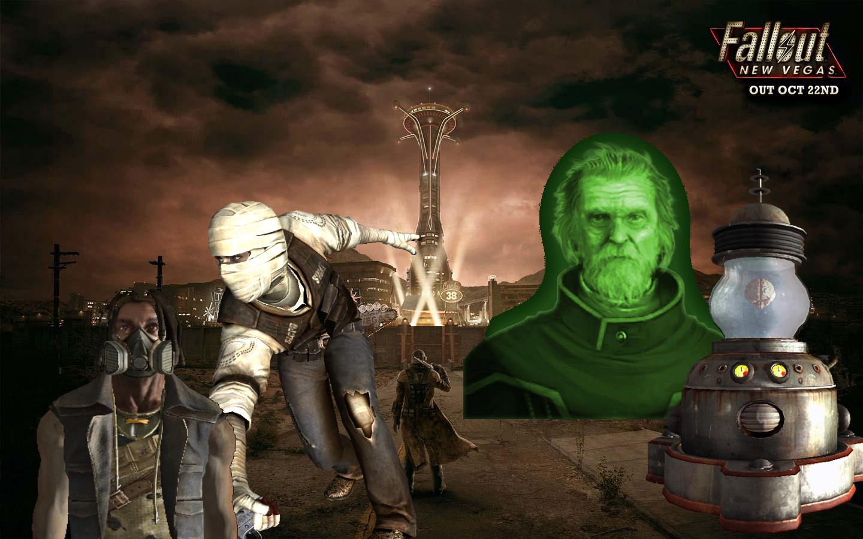Fallout 3 New Vegas Wallpaper