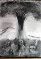 Hiroshima Inhumanity -Charcoal by Paulus-Designs
