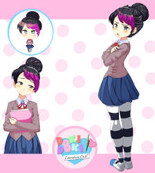 DDLC oc : Tomoko by 2devils
