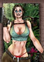 Lara Croft_Color by JardelCruz