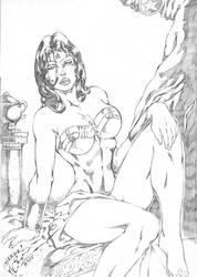 _Wonder woman sexy by JardelCruz