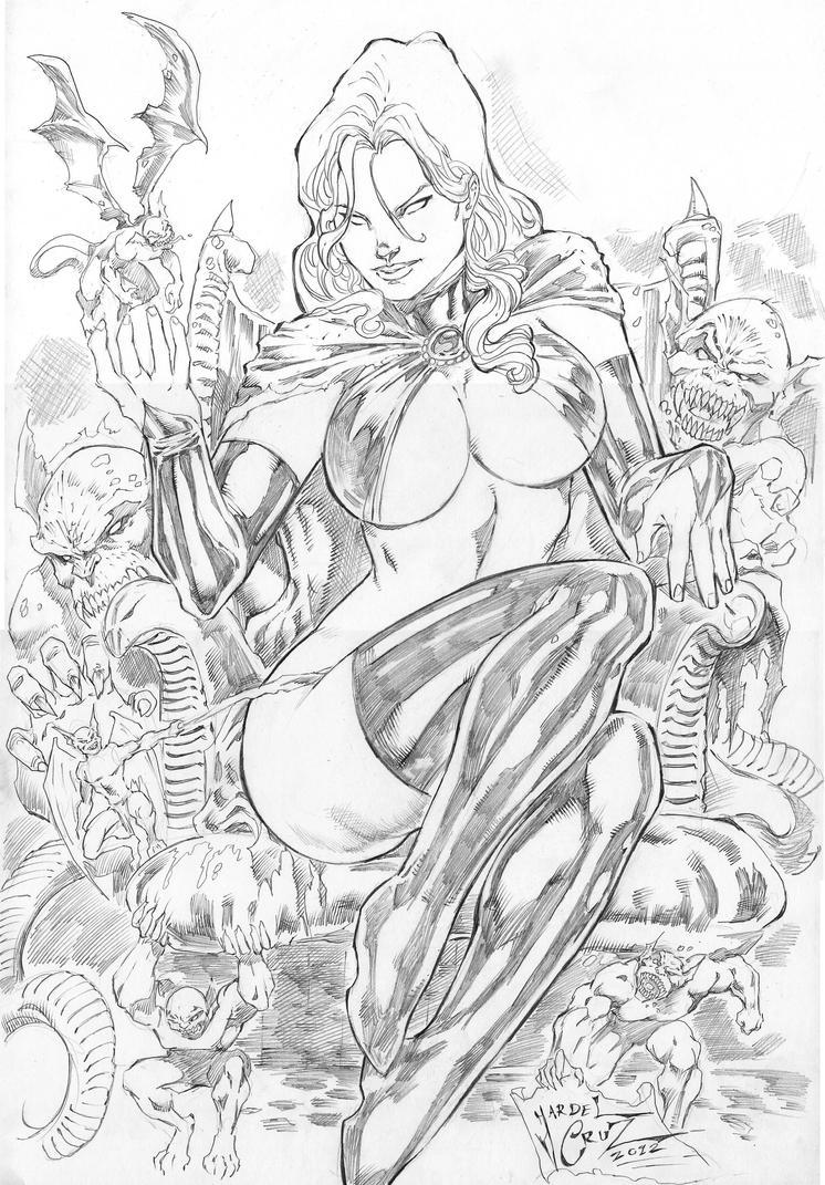 _Goblin Queen by JardelCruz