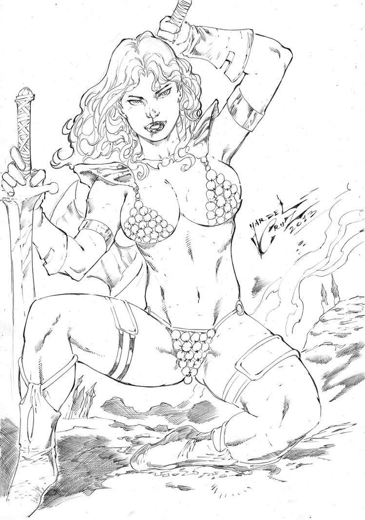 Red Sonja by JardelCruz