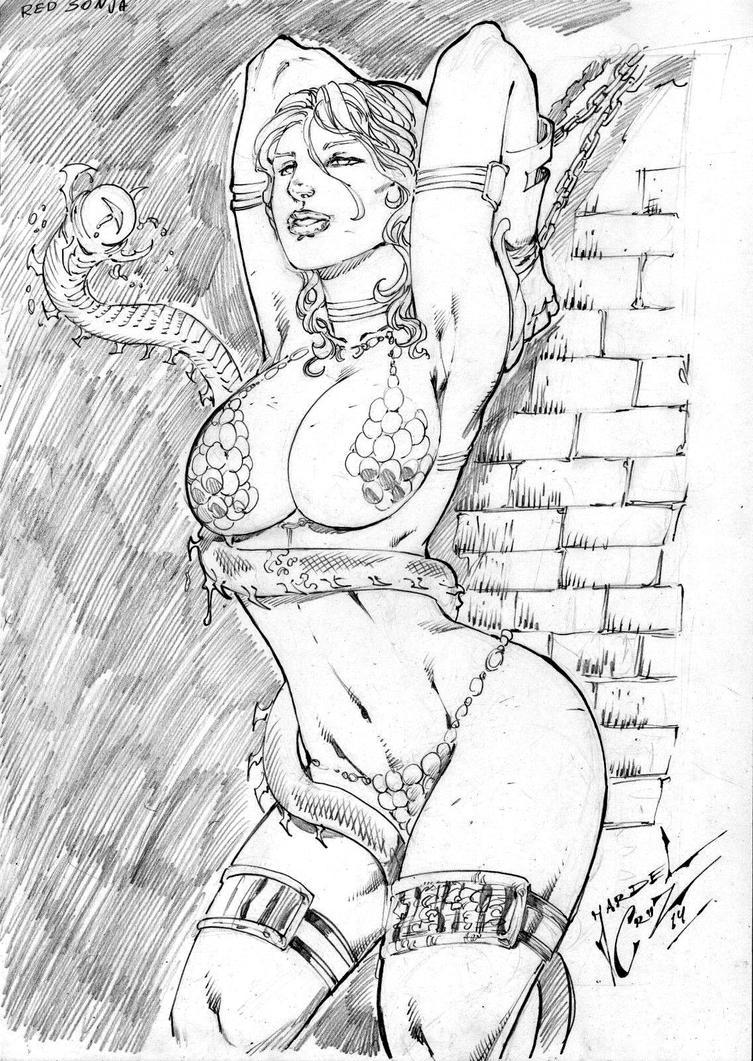 Red Sonja by JardelCruz