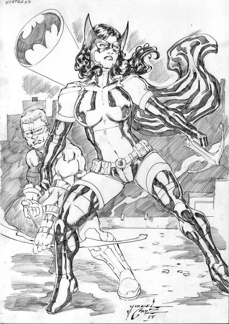 Huntress by JardelCruz