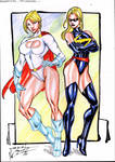 Power Girl and Miss Marvel