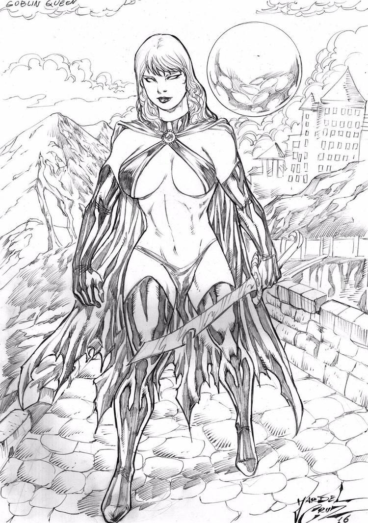 Goblin Queen by JardelCruz