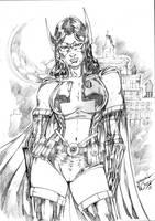 Huntress Ii by JardelCruz
