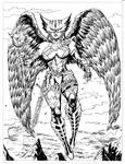 Hawkgirl -commission-open commission