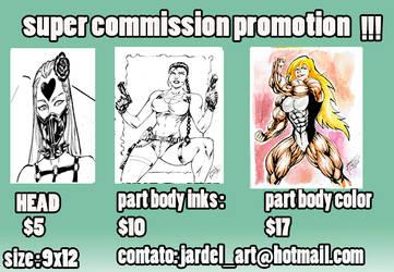 open commission list