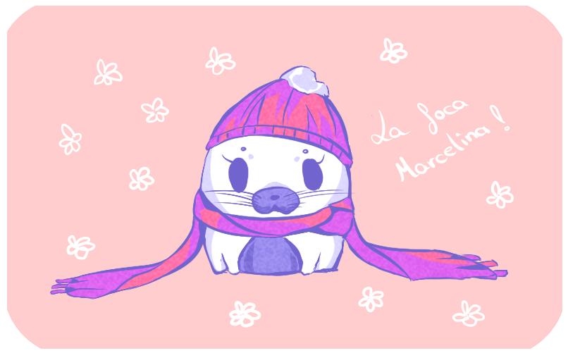 The seal Marcelina by Natsuba