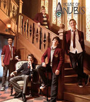 House of Anubis Boys by MoreThanAnArtist