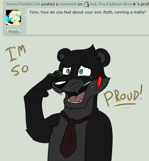 Question 205 by ask the fazbear bros on deviantart