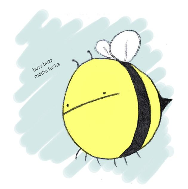 elementary. buzz buzz by quietandblue