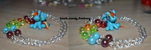 Rainbow dash necklace