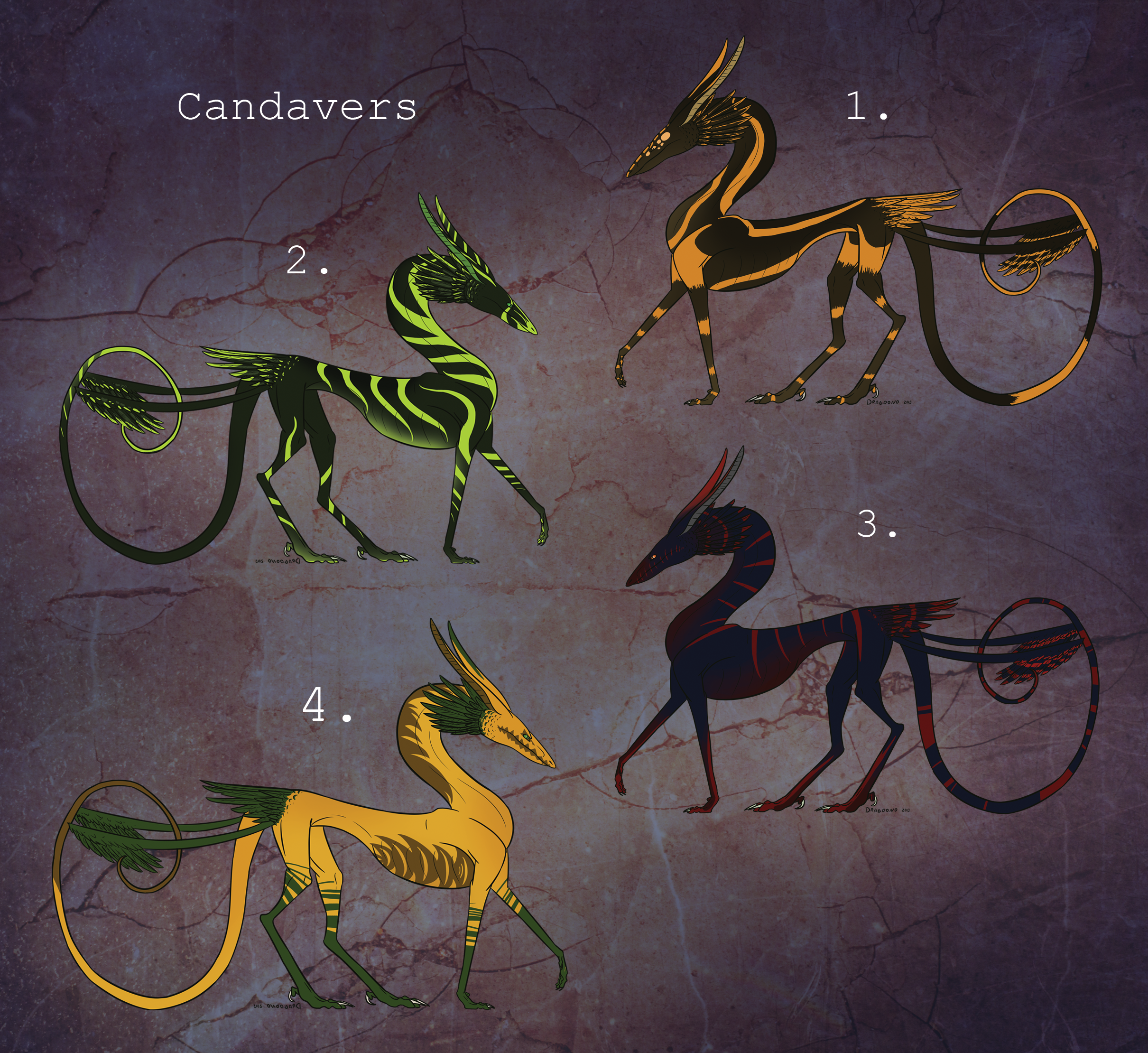 Haloween themed Candavers [CLOSED] by Virensere