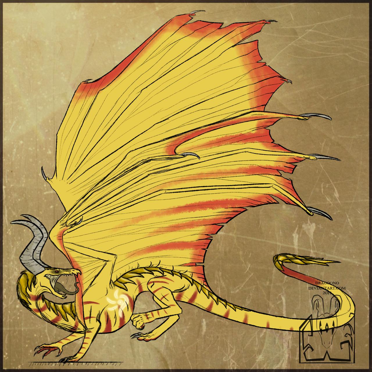 Desert dragon by Virensere
