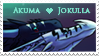 Akuma and Jokulla stamp by Virensere