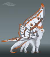 Emperor Moth -FLAT SALE- (OPEN) by Virensere