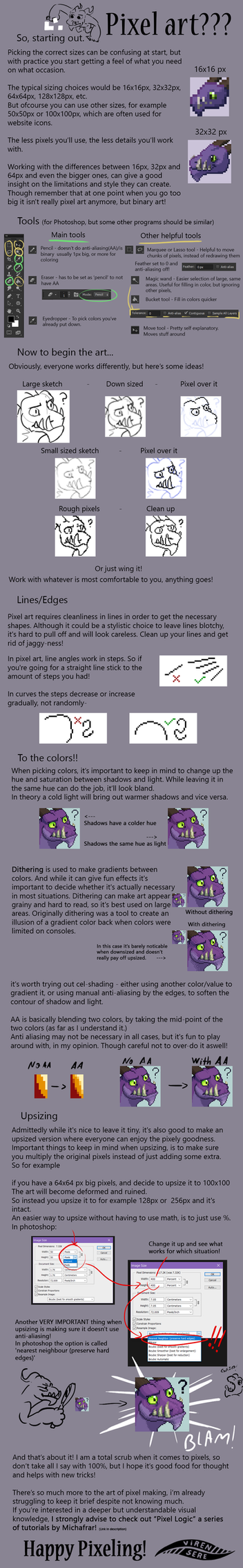 Viren's Pixel Tutorial by Virensere