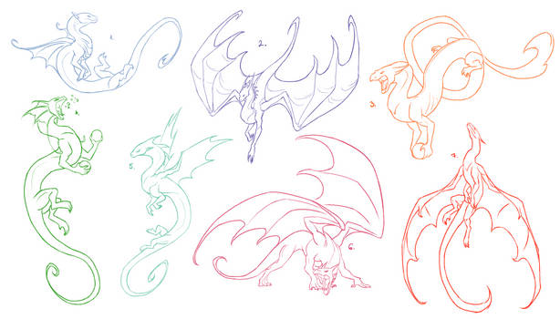 Dragon Pose References for FREE 2
