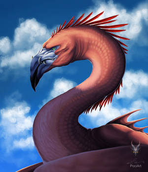 FlamingoDragon portrait