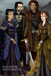 The Hogwarts Founders by goat1200