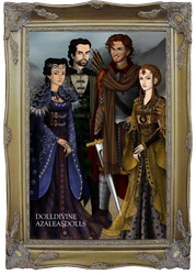 The Founders of Hogwarts by goat1200