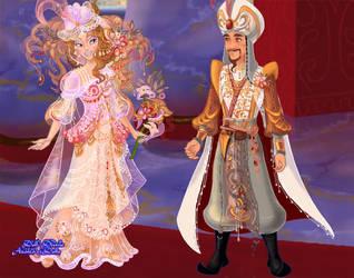Arabian wedding (February DollLoverz contest) by goat1200