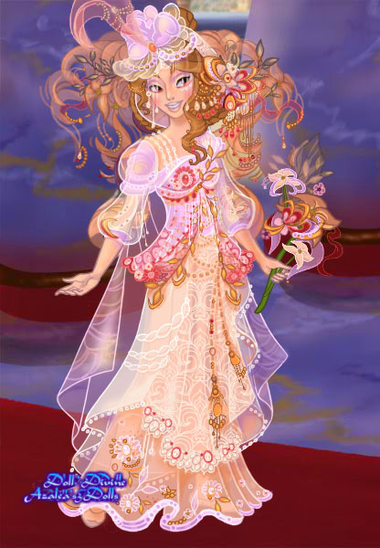 Carnaval wedding gown by goat1200
