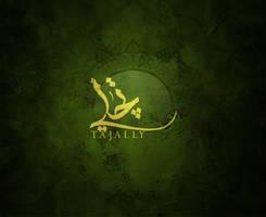 TAJALLY Silver logo by shoair