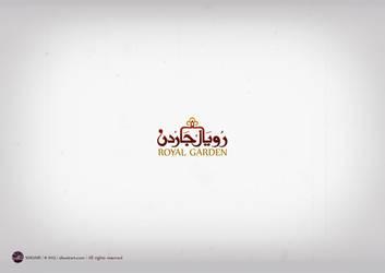 Royal Garden logo  Oman by shoair