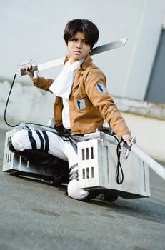 AoT-Shingeki no Kyojin - Levi Rivaille