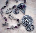 Art Nouveau Necklace by Aranwen