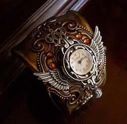 Steampunk Cuff Bracelet 4 by Aranwen