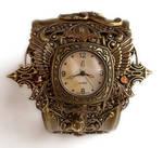 Steampunk Watch Cuff - Floral3