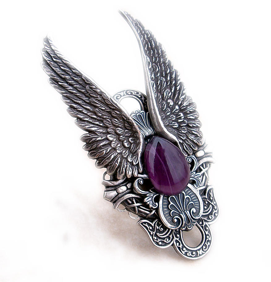 Dark Angel Ring Purple By Aranwen On Deviantart. Cathedral Style Engagement Rings. Spiral Engagement Rings. Top Brand Watches. Acrylic Bangles. Gold Ring Bracelet. Collection Watches. Channel Setting Engagement Rings. Oversized Rings
