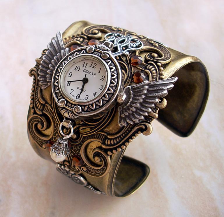 Steampunk Watch Version 2-2