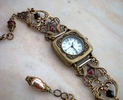 Brass Hearts Watch