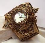 Steampunk Watch Floral V2