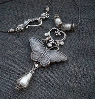 Romantic Crystal Necklace by Aranwen