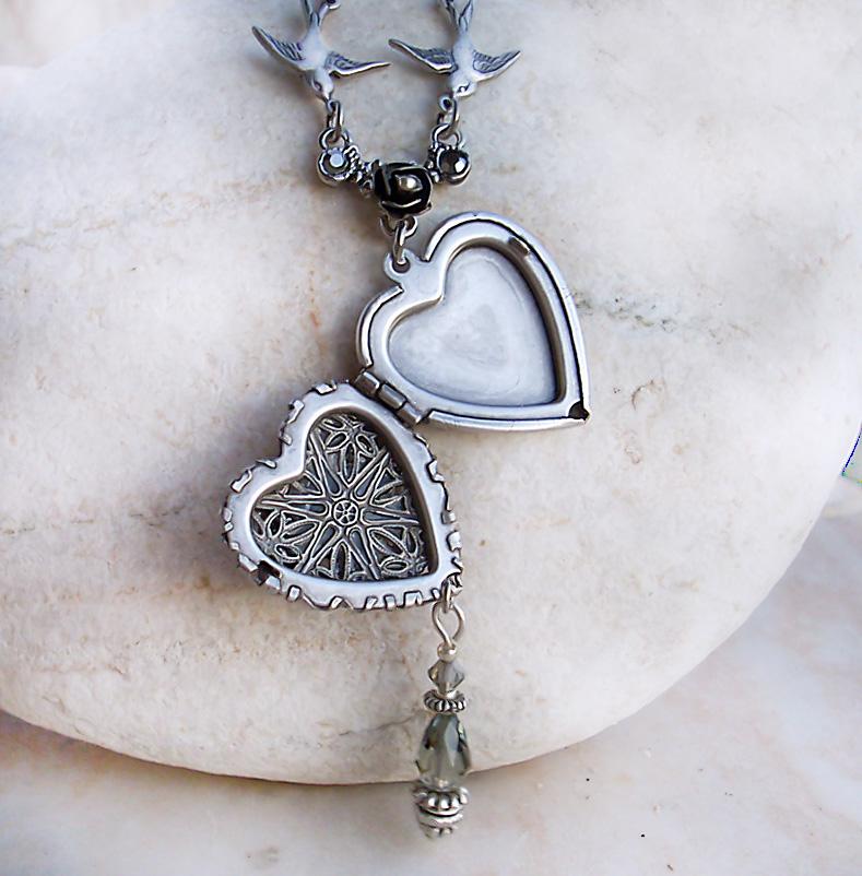 Silver Heart Locket 1 By Aranwen On Deviantart